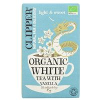 Clipper Organic White Tea with Vanilla 6 x 26 Bags
